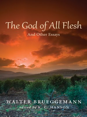 cover image of The God of All Flesh
