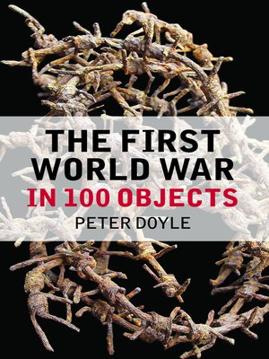 cover image of The First World War in 100 Objects