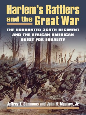 cover image of Harlem's Rattlers and the Great War