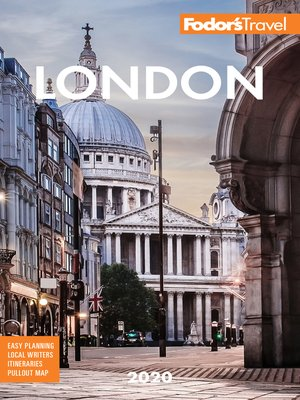 cover image of Fodor's London 2020
