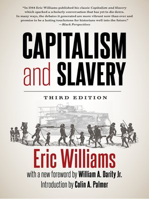 cover image of Capitalism and Slavery