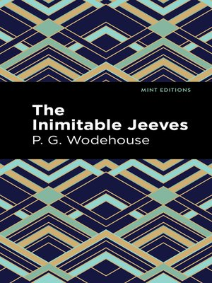 cover image of The Inimitable Jeeves