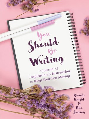 cover image of You Should Be Writing