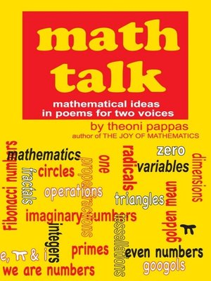 cover image of Math Talk