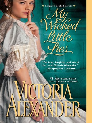 cover image of My Wicked Little Lies