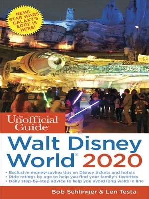 cover image of The Unofficial Guide to Walt Disney World 2020