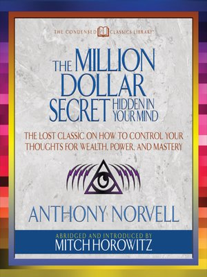 cover image of The Million Dollar Secret Hidden in Your Mind