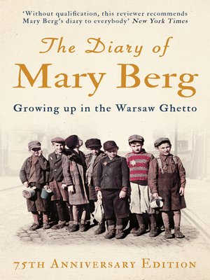 cover image of The Diary of Mary Berg