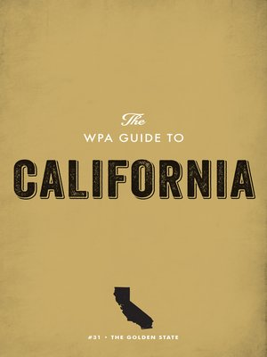 cover image of The WPA Guide to California