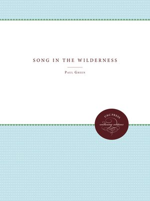 cover image of Song in the Wilderness