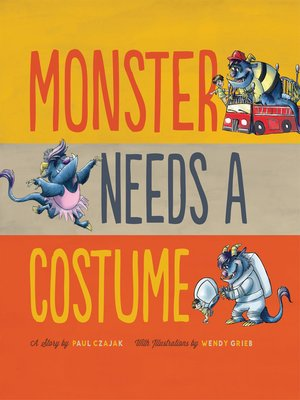 cover image of Monster Needs a Costume