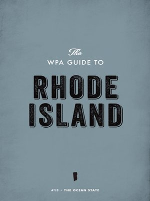 cover image of The WPA Guide to Rhode Island