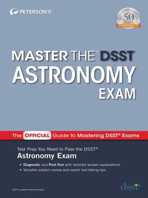 cover image of Master the DSST Astronomy Exam