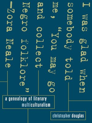 cover image of A Genealogy of Literary Multiculturalism