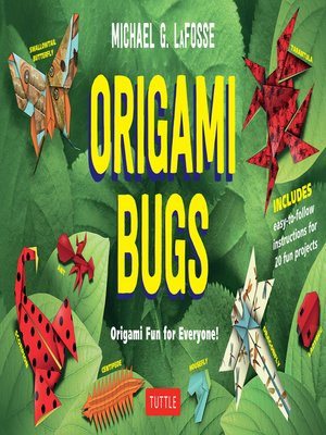 cover image of Origami Bugs Ebook