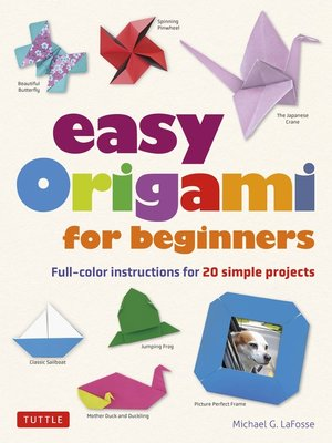 cover image of Easy Origami for Beginners