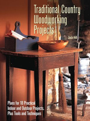 cover image of Traditional Country Woodworking Projects