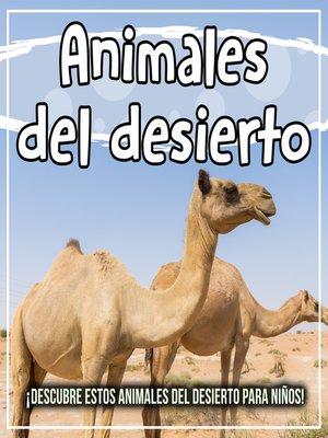 cover image of Animales del desierto