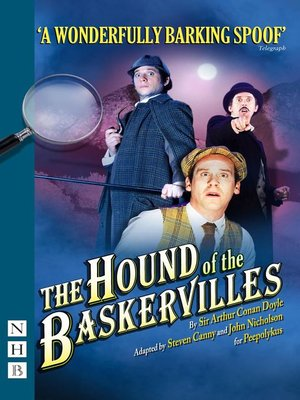 cover image of The Hound of the Baskervilles (NHB Modern Plays)