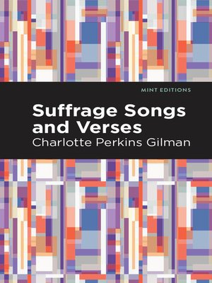 cover image of Suffrage Songs and Verses