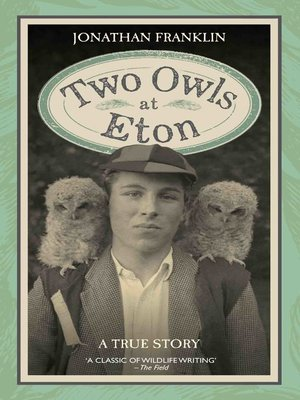cover image of Two Owls at Eton--A True Story