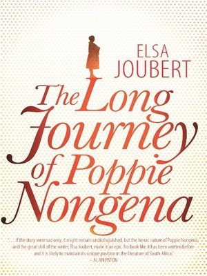 cover image of The Long Journey of Poppie Nongena