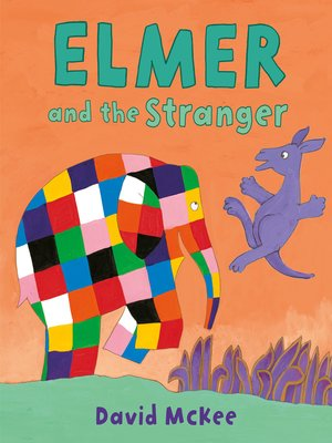 cover image of Elmer and the Stranger