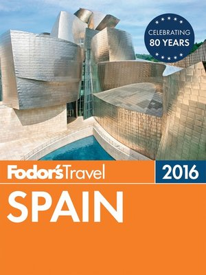 cover image of Fodor's Spain 2016