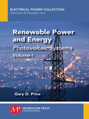 cover image of Renewable Power and Energy, Volume I