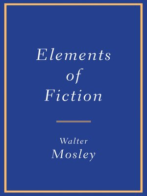 cover image of Elements of Fiction