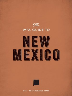 cover image of The WPA Guide to New Mexico