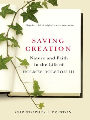 cover image of Saving Creation