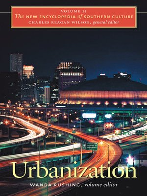 cover image of Volume 15: Urbanization