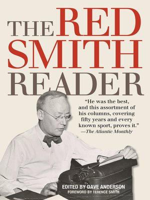 cover image of The Red Smith Reader