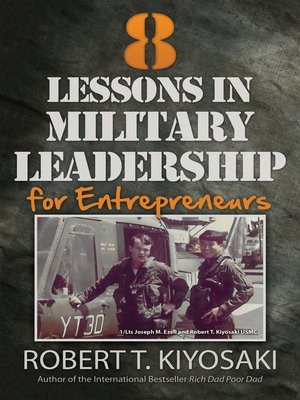 cover image of 8 Lessons in Military Leadership for Entrepreneurs