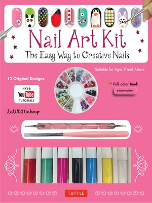cover image of Nail Art Ebook