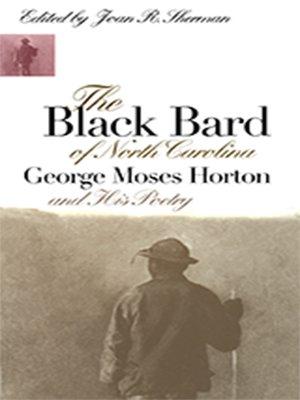 cover image of The Black Bard of North Carolina
