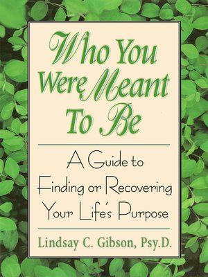 cover image of Who You Were Meant to Be