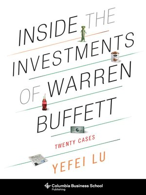 cover image of Inside the Investments of Warren Buffett