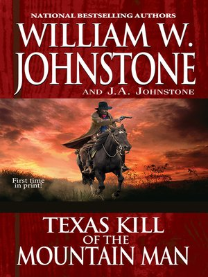 cover image of Texas Kill of the Mountain Man