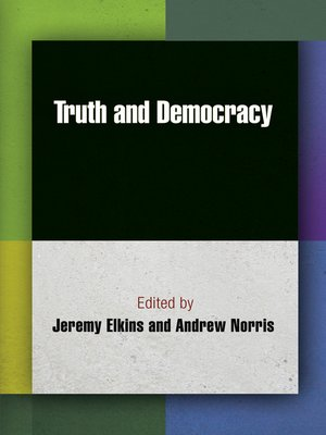 cover image of Truth and Democracy