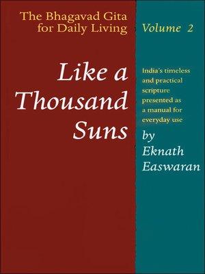 bhagavad gita eknath easwaran epub