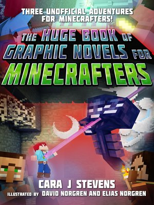 cover image of The Huge Book of Graphic Novels for Minecrafters