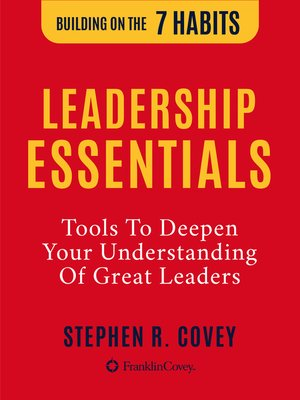 cover image of The Leadership Essentials