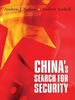 cover image of China's Search for Security