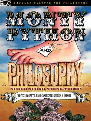 cover image of Monty Python and Philosophy