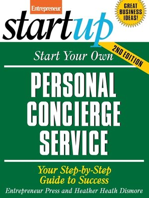 cover image of Start Your Own Personal Concierge Service