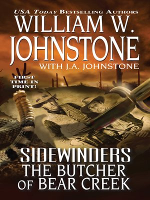 cover image of The Butcher of Bear Creek