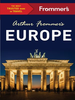 cover image of Arthur Frommer's Europe