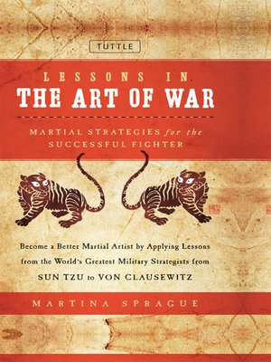 cover image of Lessons in the Art of War